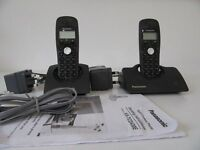 Panasonic Digital Cordless Phone - Model KX-TCD432E (2 phones)