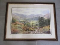 """""""Borrowdale"""" by Keith Melling - pencil signed"""