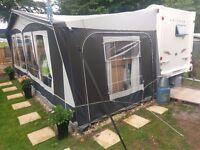 Dorema Garda Deluxe 270 Caravan Awning (WITH RECEIPT)