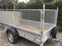 Used Ifor Williams P7E Trailer with Mesh Sides