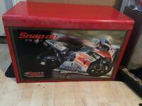 Snap on tool box Honda motorbike