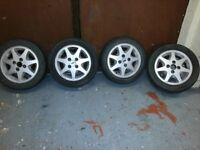 """Ford alloy wheels in good condition 4No x 14"""""""