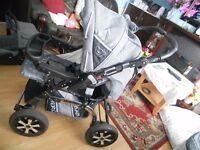 PRAM [ Merc S6 3] in 1 Travel System