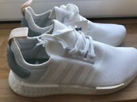 Adidas NMD RUNNER (R1) - women's - White Tactile Green - size UK 6.5 (BRAND NEW)