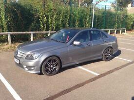 Mercedes C250 sport plus, panoramic roof.