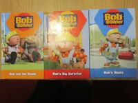 3x Bob the Builder books MINT condition