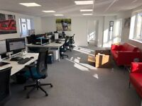 Bright and airy open plan office space to let on outskirts of Winchester