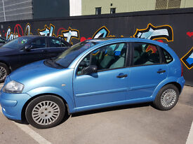 Blue Citroen C3 - Automatic - Electric panoramic sunroof - MOT passed in March !