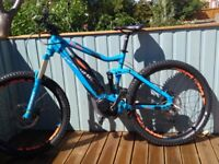Haibike electric mountain bike