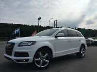 2011 Audi Q7 S-LINE 7 PASSAGERS SUPERCHARGED