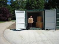 20 foot storage containers £96.00 per month inc vat plus deposit.
