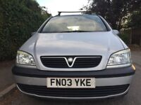 Vauxhall Zafira 1.8 Petrol 7 SEATER -2003-Excellent Condition-One Lady Owner