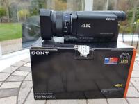 Sony AX100 4k Video Camera