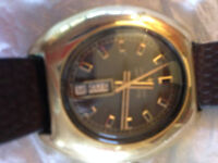 mens orginal hamilon watch automatic vintage +box
