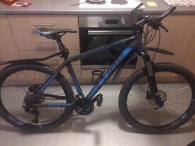 Cube cmpt acid blue/grey mountain bike