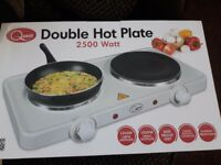 Brand new in box double hot plate