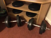 35 kg dumbbell weights