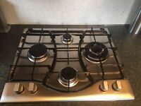 Hot point stainless steel Gas Hob