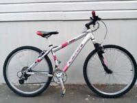"(2233) 26"" 16"" Lightweight Aluminium CARRERA MOUNTAIN BIKE BICYCLE Height: 153-168cm"