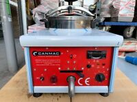 commercial catering kitchen FRIED CHICKEN PRESSURE FRYER KEBAB TAKE AWAY FAST FOOD SHOP