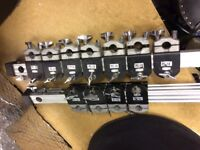 PEARL DRUM RACK - LARGE AMOUNT OF CLAMPS