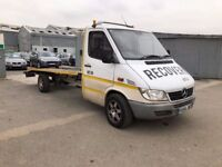 Mercedes-Benz Sprinter 2.2 CDI 311 Chassis Cab 2dr LWB£4,500 p/x welcome RECOVERY TRUCK! AUTOMATIC