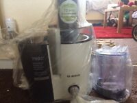 Bosch juicer-brand new