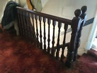 Reclaimed Staircases in Property HR1 Very good condition with spindles