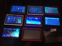 9x Job Lot Android Tablets - Please Read -