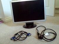 GNR PC Monitor 19 inch (diagonal measurement) £15