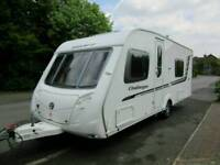 2010 Swift Challenger 570 SE. Immaculate, Fixed Bed, Motor Mover & Awning