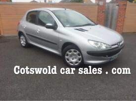 Pegeout 206 1.4 s td 42000 Miles 7 services! cam belt done!£30 years tax 78 mpg !5 doors