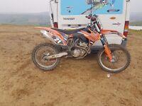 Ktm250sfx 2014 for swap or cash sale