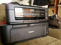 Two Printer Scanners. Cannon and Epsom