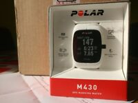 Brand new Polar M430 with wrist based heart rate monitor perfect Christmas gift