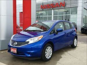 2016 Nissan Versa Note SV, backup camera, streaming Bluetooth Au