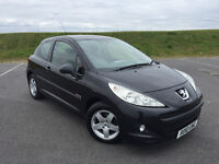 2010 PEUGEOT 207 1.6 HDI VERVE LOW MILEAGE FULL SERVICE HISTORY AND LONG MOT! VERY CLEAN CAR!