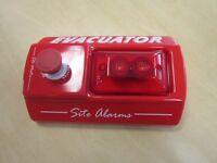 Master evacuator alarm