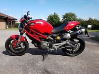 Ducati Monster 696 Red with Termigoni System