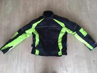 Motorbike Textile Jacket. Full Armour. Frank Thomas Rst Alpinestars