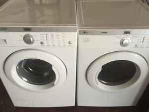 86- LG TROMM Laveuse Secheuse Frontale Frontload Washer Dryer