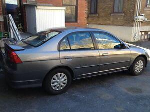 Civic 2005 4pneu neuf