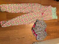 Mini Boden - Beautiful Playsuit (7-8 Years) and Short Culotte (6-7 Years)