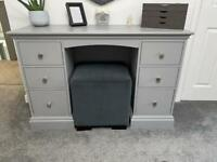 Dressing Table (painted grey) from animal & smoke free home.