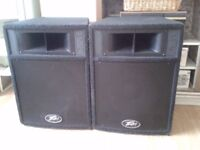 PEAVEY ST-12 SPEAKERS - BARGAIN AT ONLY £140