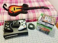 XBOX 360 elite plus many extras