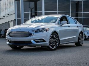 2017 Ford Fusion SE AWD  Navigation  Leather Interior