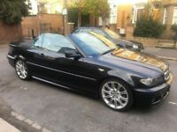 BMW 330CI 3.0 M SPORT AUTOMATIC 2 DOOR CONVERTIBLE WITH SAT NAV