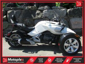 2015 Can-Am Spyder  F3 SE6 COMME NEUF !  78$/SEMAINE