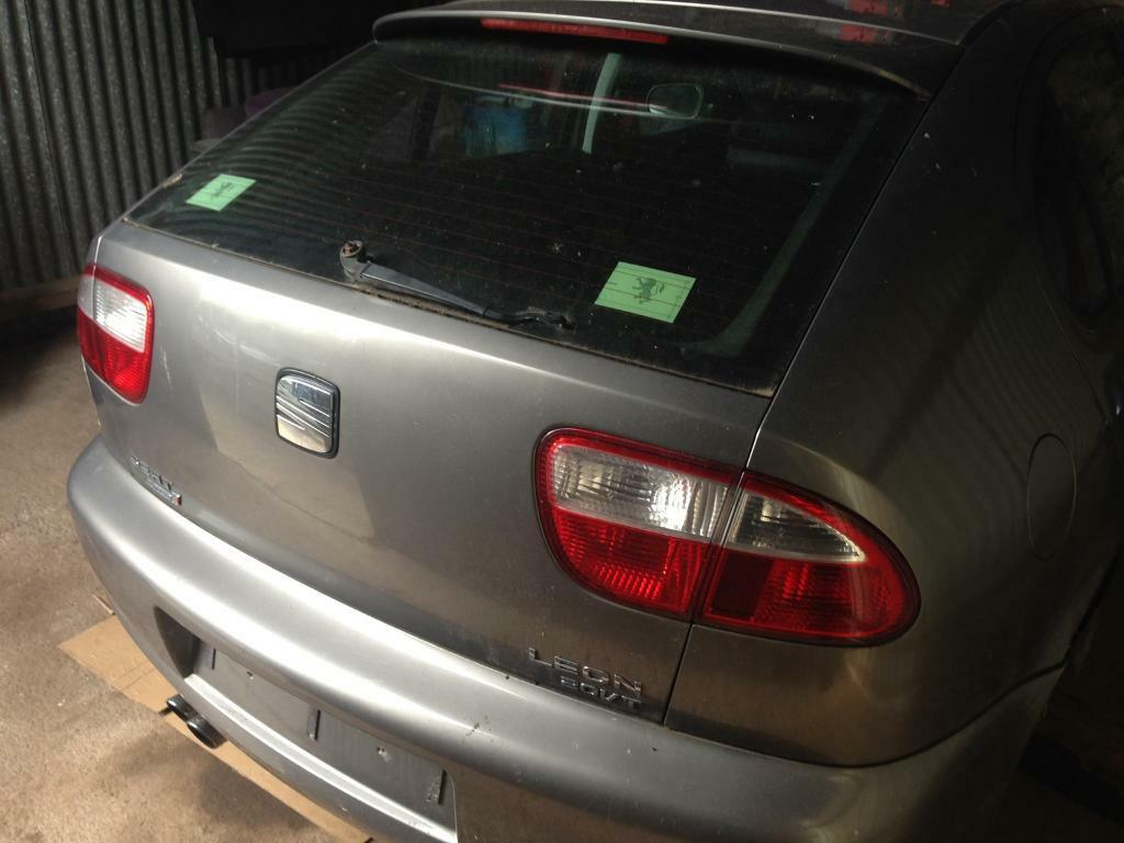 Seat Leon Cupra Tailgate with Spoiler Grey 2004 All Panels Available